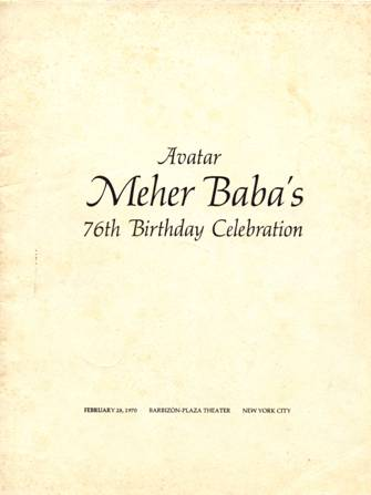 An Introductory Sketch or The Life and Work of Avatar Meher Baba